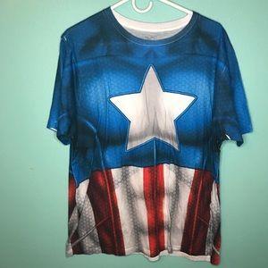 Captain America T-Shirt Size XL